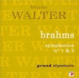 BRAHMS - Walter - Symphonie n°1 pour orchestre en do mineur op.68