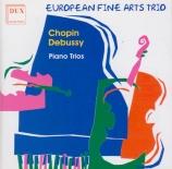 CHOPIN - European Fine A - Trio pour violon, violoncelle et piano en sol