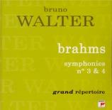 BRAHMS - Walter - Symphonie n°3 pour orchestre en fa majeur op.90