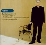 HAYDN - Gardiner - Schöpfungsmesse (Messe de la création), pour solistes