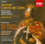 GRETRY - Doneux - Richard Coeur de Lion