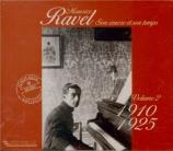 Ravel et son temps Vol.2 : 1910-1925