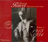 Ravel et son temps Vol.3 : 1918-1934