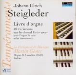 STEIGLEDER - Gester - Quarante variations sur 'Vater Unser'