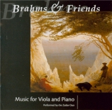 Brahms & Friends : Music for Viola and Piano