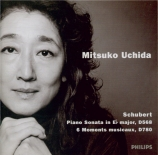 SCHUBERT - Uchida - Sonate pour piano en mi bémol majeur op.posth.122 D