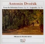 DVORAK - Prague Piano Du - Dans la forêt de Bohême (Ze ?umavy), pour pia