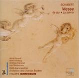 SCHUBERT - Herreweghe - Messe n°5 en la bémol majeur, pour solistes, choe