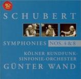 SCHUBERT - Wand - Symphonie n°4 en do mineur D.417 'Tragique'