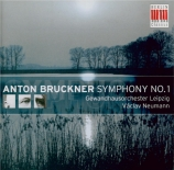 BRUCKNER - Neumann - Symphonie n°1 en ut mineur WAB 101