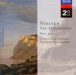 NIELSEN - Schirmer - Symphonie n°4 op.29 'L'inextinguible'