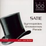 SATIE - Barbier - Trois gymnopédies