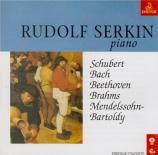SCHUBERT - Serkin - Impromptu pour piano en la bémol majeur op.90 D.899
