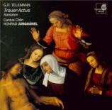 TELEMANN - Junghänel - Du aber Daniel, gehe hin, cantate pour les funéra