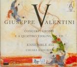 Concerti grossi e a quattro violini, Op.VII