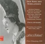 WAGNER - Stiedry - Der Ring des Nibelungen (L'Anneau du Nibelung) WWV.86