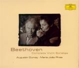 BEETHOVEN - Dumay - Sonate pour violon et piano n°9 op.47 'Kreutzer'