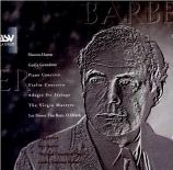 BARBER - Shapira - Concerto pour violon op.14