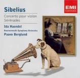 SIBELIUS - Berglund - Concerto pour violon et orchestre op.47