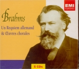 Un Requiem allemand et Oeuvres chorales