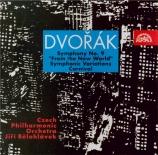DVORAK - Belohlavek - Symphonie n°9 en mi mineur op.95 B.178 'Du Nouveau