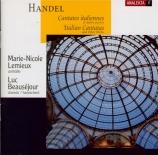 HAENDEL - Lemieux - Agrippina condotta a morire, cantate HWV.110 (aussi