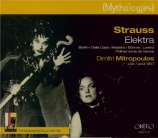 STRAUSS - Mitropoulos - Elektra, opéra op.58 (Salzburg 1957) Salzburg 1957