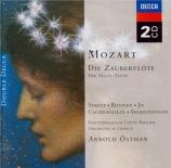 MOZART - Östman - Die Zauberflöte (La flûte enchantée), opéra en deux ac