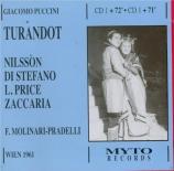 PUCCINI - Molinari-Pradel - Turandot (Live, Vienne 22 - 06 - 1961) Live, Vienne 22 - 06 - 1961