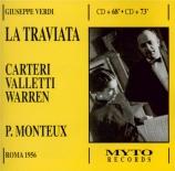 VERDI - Monteux - La traviata, opéra en trois actes