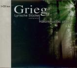 GRIEG - Austbo - Pièces lyriques