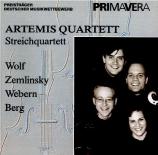 WOLF - Artemis Quartet - Sérénade italienne : transcription pour quatuor