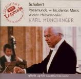 SCHUBERT - Münchinger - Rosamunde, Fürstin von Cypern, musique de scène