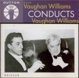 VAUGHAN WILLIAMS - Barbirolli - Symphonie n°1 'A sea symphony'