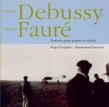 FAURE - Pasquier - Sonate pour violon et piano n°1 en la majeur op.13