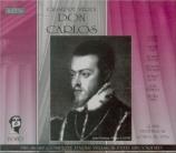 VERDI - Matheson - Don Carlos, opéra en cinq actes (version originale 18 version française, BBC 1976