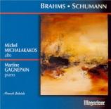 BRAHMS - Michalakakos - Sonate pour alto et piano n°1 en fa mineur op.12