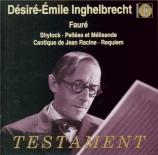 FAURE - Inghelbrecht - Shylock, musique de scène pour orchestre op.57