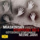 MYASKOVSKI - Järvi - Symphonie n°6 op.23