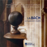 BACH - Menissier - Wenn wir in höchsten Nöten sein, prélude de choral po orgue Silbermann de St Thomas de Strasbourg