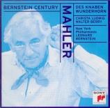 MAHLER - Bernstein - Des Knaben Wunderhorn (Le Cor enchanté de l'enfant)
