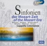 Symphonies of the Mozart era