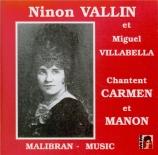 Carmen et Manon
