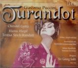 PUCCINI - Solti - Turandot live, Köln 13-19 - 05 - 1956 : chanté en allemand