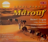 RABAUD - Le Conte - Mârouf, savetier du Caire