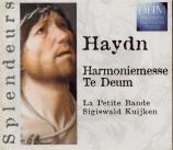 HAYDN - Kuijken - Harmoniemesse, pour solistes, choeur mixte, orchestre e