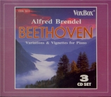 BEETHOVEN - Brendel - Variations héroïques, quinze variations pour piano