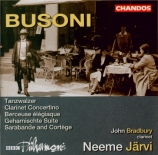 BUSONI - Järvi - Berceuse élégiaque op.42