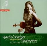 TELEMANN - Podger - Fantaisie pour violon, en fa majeur TWV 40:24