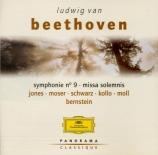 BEETHOVEN - Bernstein - Symphonie n°9 op.125